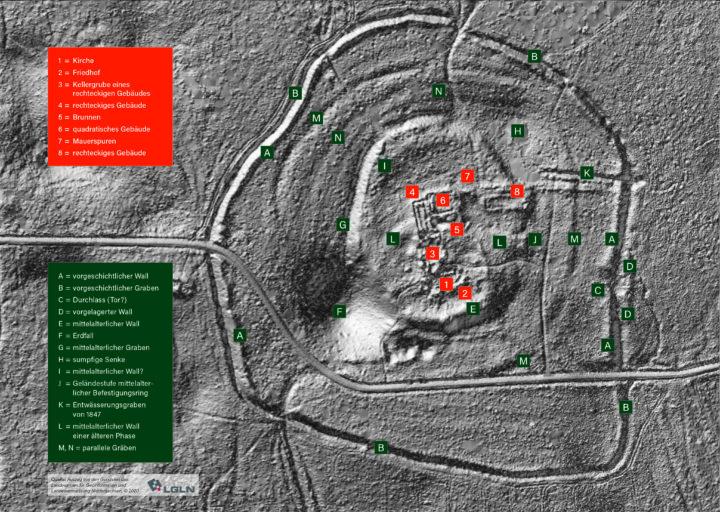 Auszug aus den Geodaten des Landesamtes für Geoinformation und Landvermessung Niedersachsen Copyright 2020 bearb. V:D:Pollok